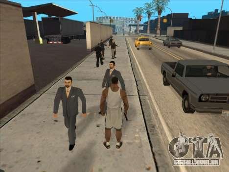 Os Russos, no distrito Comercial para GTA San Andreas décima primeira imagem de tela
