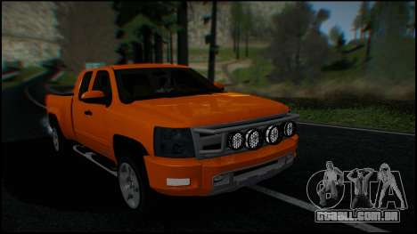 Chevrolet Silverado 1500 HD Stock para GTA San Andreas interior