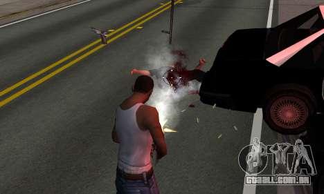 BeautifulDark ENB para GTA San Andreas quinto tela