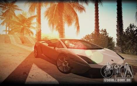 ENB for SA:MP v5 para GTA San Andreas terceira tela