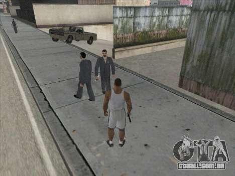 Os Russos, no distrito Comercial para GTA San Andreas