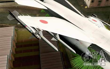 Mitsubishi F-2 Original JASDF Skin para GTA San Andreas vista direita
