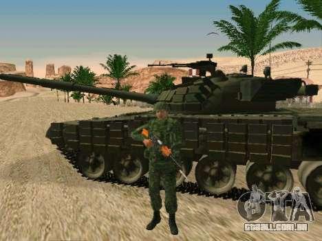 O militar russo está em uma nova forma para GTA San Andreas sexta tela
