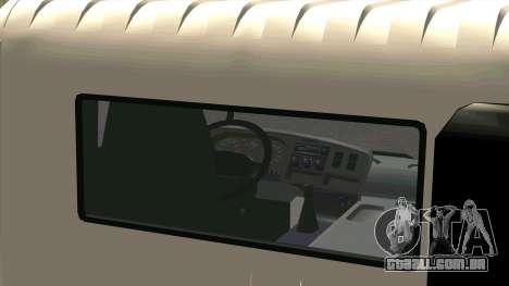 Mitsubishi Fuso Super Great FP-R para GTA San Andreas vista traseira
