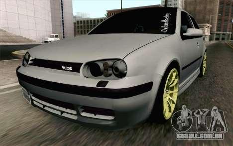 Volkswagen Golf Mk4 2002 Street Daily para GTA San Andreas