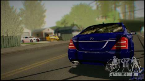Mercedes-Benz S65 AMG 2012 Road version para GTA San Andreas vista direita