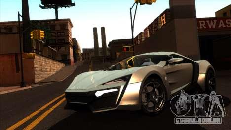 ENBSeries para PC fraco v5 para GTA San Andreas terceira tela