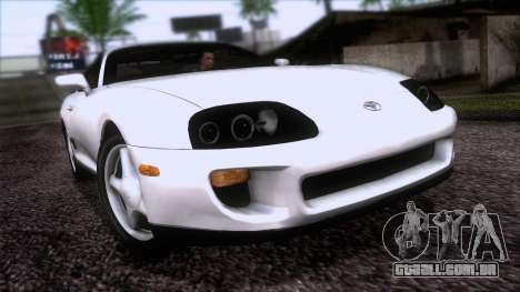 Toyota Supra US-Spec (JZA80) 1993 HQLM para GTA San Andreas