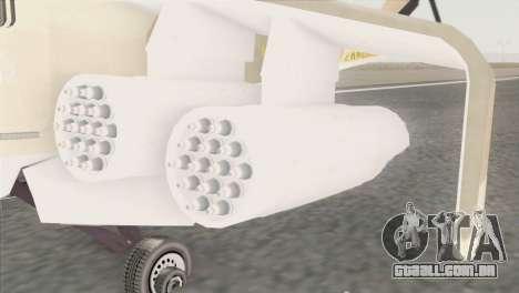 Savage GTA 5 para GTA San Andreas traseira esquerda vista