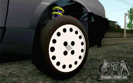 Fiat Regata para GTA San Andreas traseira esquerda vista