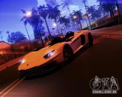 iNFINITY ENB para GTA San Andreas sétima tela