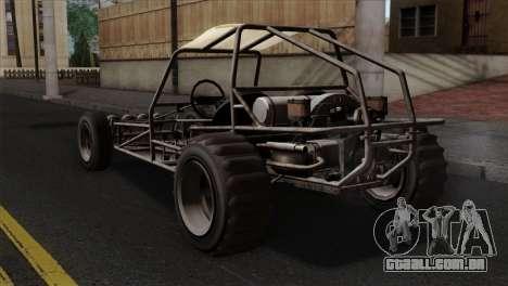 GTA 5 Dune Buggy IVF para GTA San Andreas esquerda vista