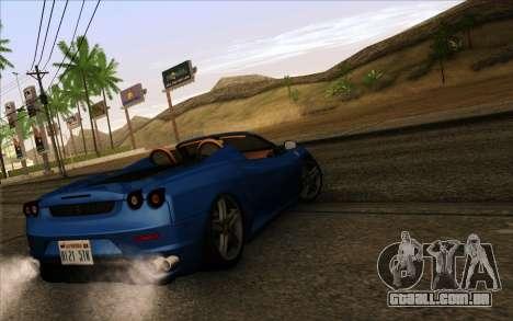GTA 5 ENB by Dizz Nicca para GTA San Andreas terceira tela