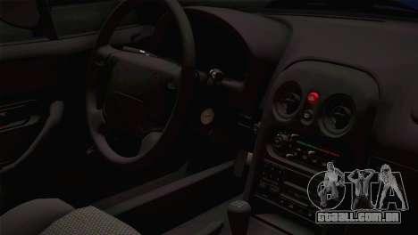 Mazda Miata Cabrio v2 para GTA San Andreas vista traseira