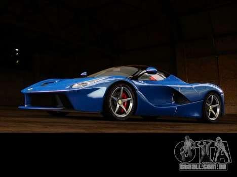 Ferrari Laferrari para GTA 4 vista de volta