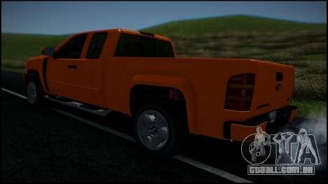 Chevrolet Silverado 1500 HD Stock para as rodas de GTA San Andreas