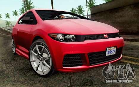 GTA V Dinka Blista para GTA San Andreas