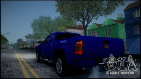 Chevrolet Silverado 1500 HD Stock para GTA San Andreas vista inferior
