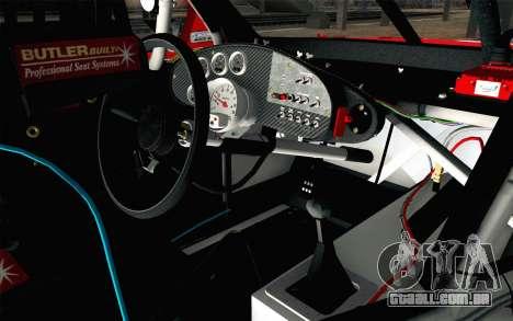 NASCAR Chevrolet Impala 2012 Short Track para GTA San Andreas vista direita
