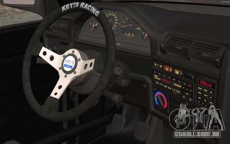 BMW E30 para GTA San Andreas vista direita