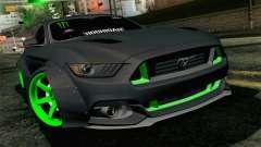 Ford Mustang 2015 Monster Edition para GTA San Andreas