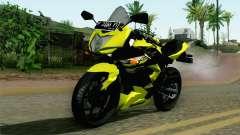 Kawasaki Ninja 250RR Mono Yellow