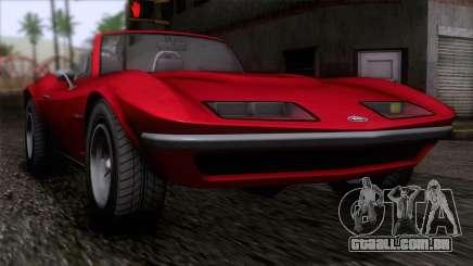 GTA 5 Invetero Coquette Classic TL IVF para GTA San Andreas