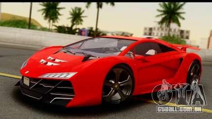 GTA 5 Pegassi Zentorno Zen Edition para GTA San Andreas