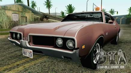 Oldsmobile 442 Holiday Coupe 1969 HQLM para GTA San Andreas