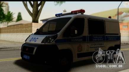 Fiat Ducato DPS STSI para GTA San Andreas