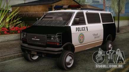 GTA 5 Police Transporter para GTA San Andreas