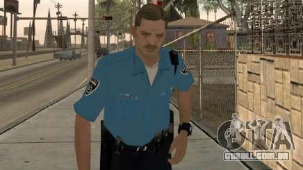 Israeli Police Officer para GTA San Andreas