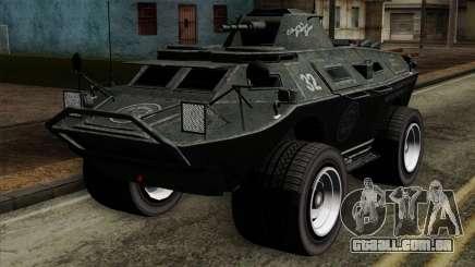 GTA 4 TBoGT Swatvan v2 para GTA San Andreas