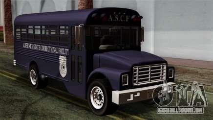 GTA 4 TLaD Prison Bus para GTA San Andreas