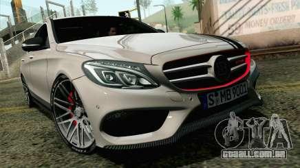 Mercedes-Benz C250 AMG Brabus Biturbo Edition EU para GTA San Andreas