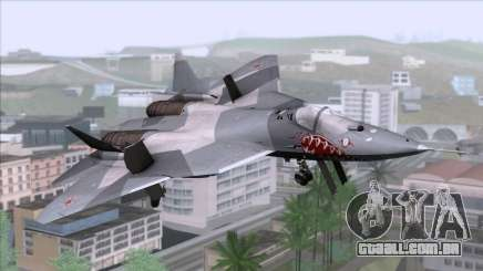Sukhoi T-50 PAK FA Akula para GTA San Andreas