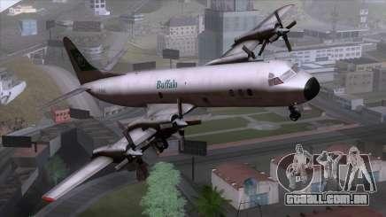 L-188 Electra Buffalo Airways para GTA San Andreas