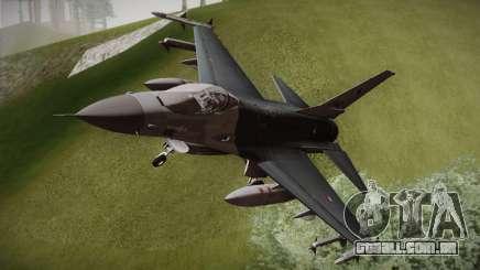 F-16 Fighting Falcon RNLAF para GTA San Andreas