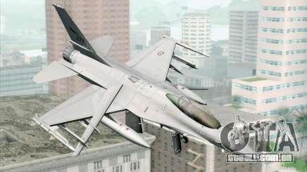 F-16 Fighting Falcon RNoAF PJ para GTA San Andreas