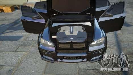 HAMANN BMW X6 2011 Tycoon EVO M v1.0 TSE para GTA 4 vista lateral