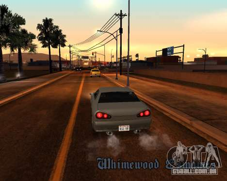 Project 2dfx 2.5 para GTA San Andreas nono tela
