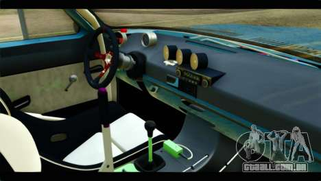 O Anel de GÁS 24 para GTA San Andreas vista direita