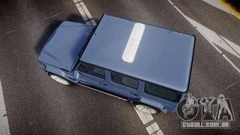 Mercedes-Benz B65 Brabus [ELS] para GTA 4 vista direita