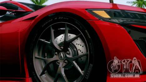 Nissan GT-R para GTA San Andreas vista direita