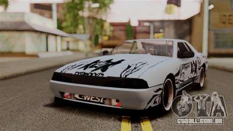 Elegy Full Customizing para GTA San Andreas vista traseira