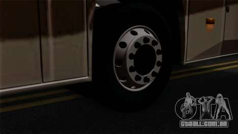Comil Campione Carolina para GTA San Andreas traseira esquerda vista