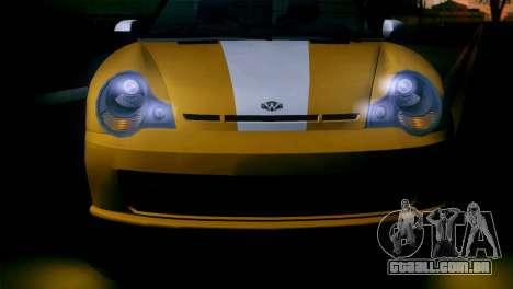 GTA 5 Weeny Issi IVF para GTA San Andreas traseira esquerda vista
