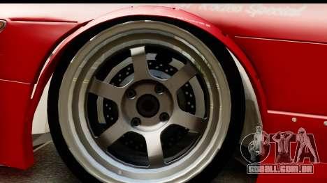 Nissan Silvia S13 Rocket Bunny para GTA San Andreas vista traseira
