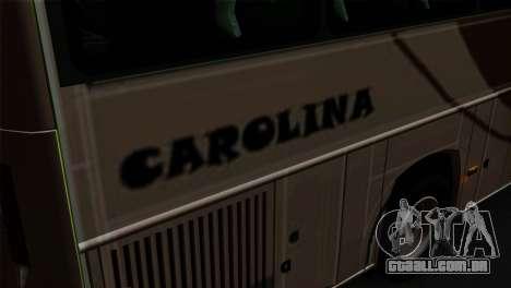 Comil Campione Carolina para GTA San Andreas vista traseira