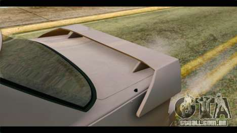 Nissan Silvia para GTA San Andreas vista traseira